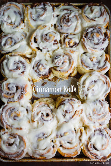 These just might be the perfect cinnamon rolls you can make right at home!  The Perfect Cinnamon Rolls Recipe | Landeelu