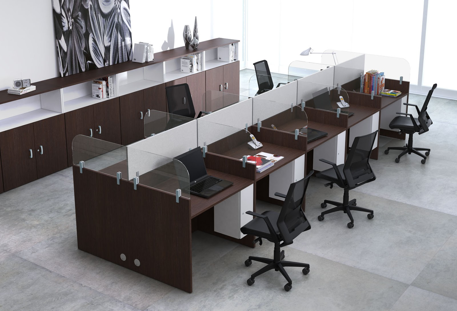 Oficina total call center for Muebles de oficina mallorca