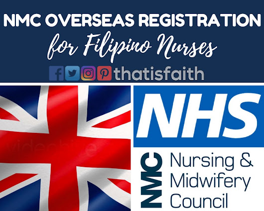 That is Faith: Complete Guide on Overseas NMC Registration for Filipino Nurses (IELTS and CBT) - Part 1