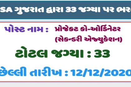 SSA Gujarat Recruitment 2020 |Educeg
