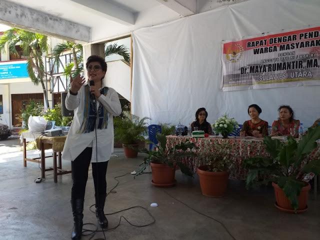 Dr. Maya Rumantir MA. Ph.D, Mendapat Apresiasi, Paparkan 4 Pilar Kebangsaan