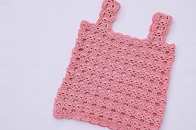 3 - Crochet Imagen Camisa a tirantes a crochet y ganchillo por Majovel Crochet