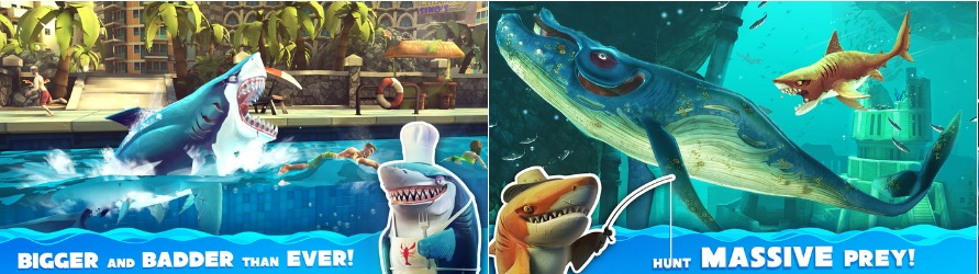 apple apps hungry shark world