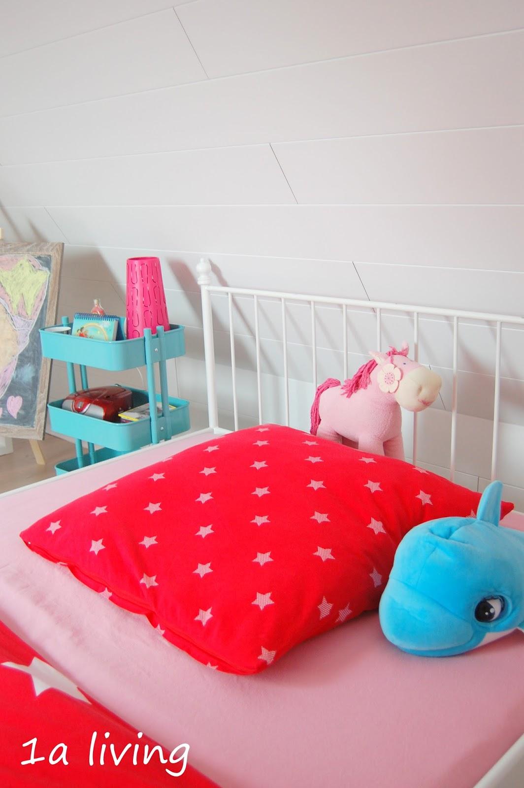 1a living: step by step zum kinderstockwerk {8} das mädchenzimmer