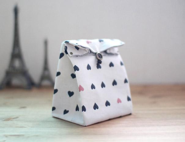 Fabric Gift Bag Tutorial