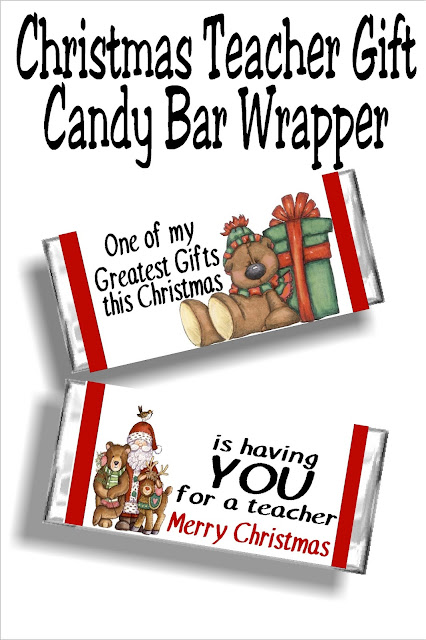 Make next December a little more enjoyable by checking off all the teachers on your gift list today. This cute Teacher Christmas gift printable is a gift and card in one with the printable candy bar wrapper that your teachers will love. And you'll love enjoying a little more fun this holiday season with one less stress on your plate.