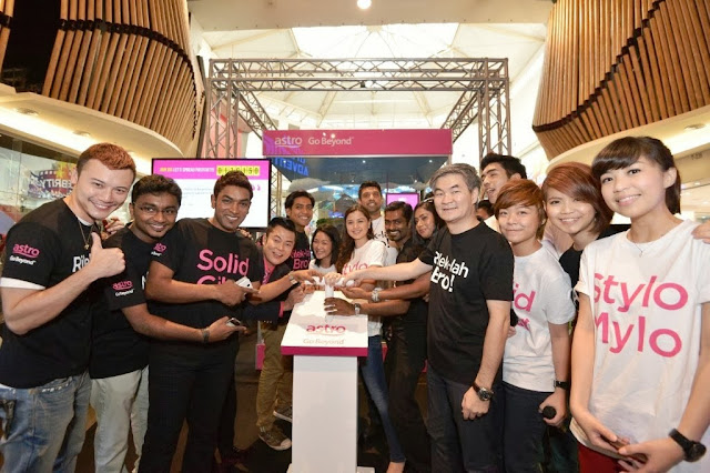 merdeka 2013, Astro, Your Malaysian is Showing, Go Beyond, Positive Engine, Event, Mid Valley, henry tan coo astro, astro celebrities