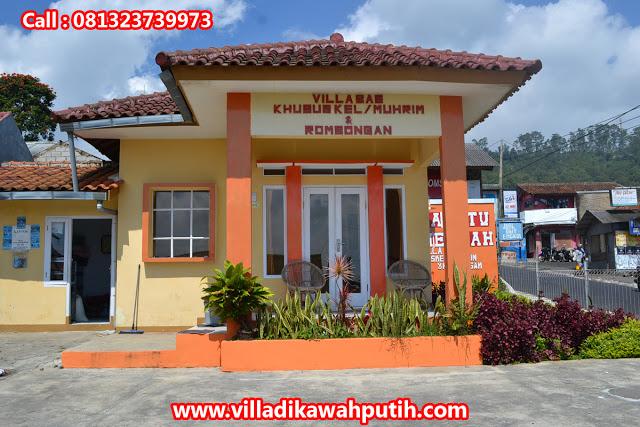 Booking villa di area wisata kawah putih dari surakarta