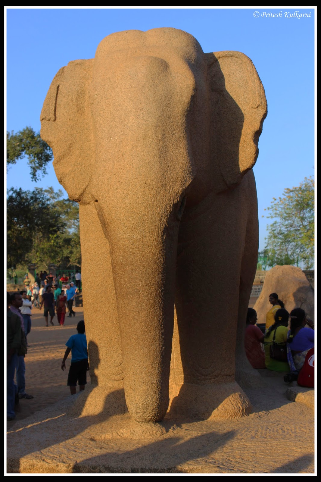 Elephant at Five Rathas