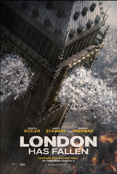 Poster Of London Has Fallen 2016 720p Hindi HDTS Dual Audio Full Movie