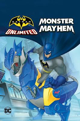 Batman Unlimited Monster Mayhem 2015 DVD R1 NTSC Latino