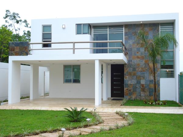 Casas en venta y departamentos casa muestra residencial for Casas residenciales minimalistas
