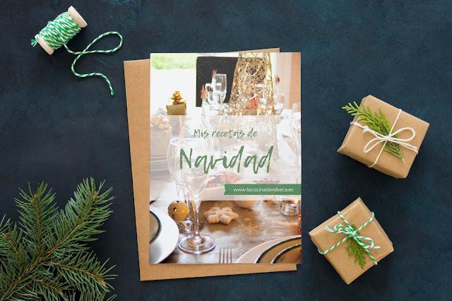 Recetario de Navidad (portada)