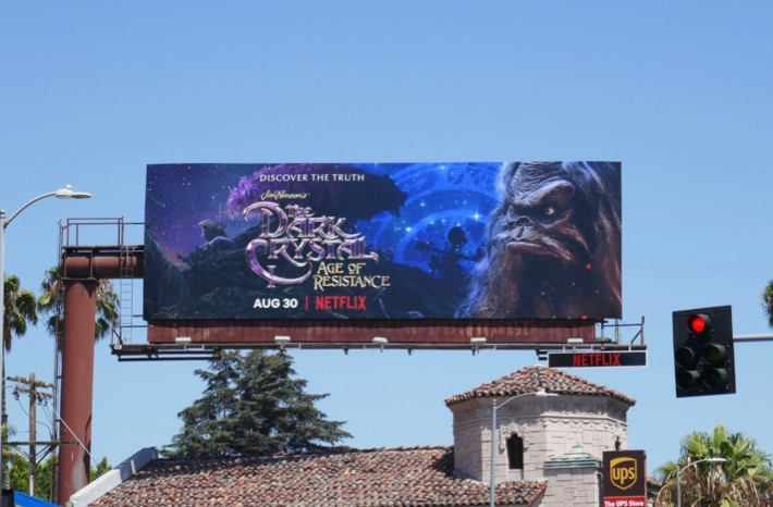 Dark Crystal Age of Resistance Netflix billboard