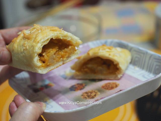 Curry Potato Pastry DIY recipe 咖哩薯仔酥 自家烘焙食譜