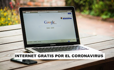 EL GOBIERNO REGALARA INTERNET GRATIS POR EL CORONAVIRUS