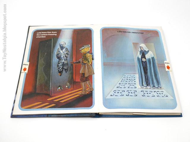 El Regreso del JEDI - Un libro POP UP  1983 - Random House  Ib Penick