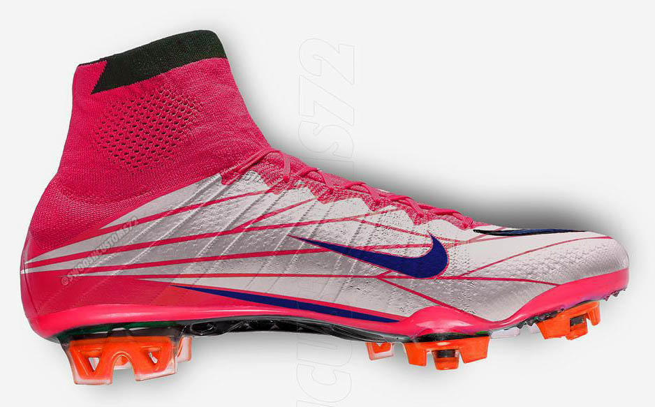 1a3174f22 ... Nike Mercurial Superfly IV Nike Mercurial Vapor Superfly II Voltage  Cherry Football Boots ...