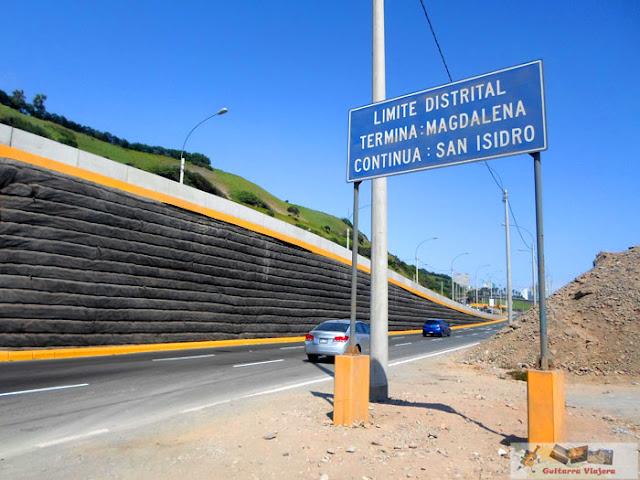 Costa Verde entre Magdalena y San Isidro Lima
