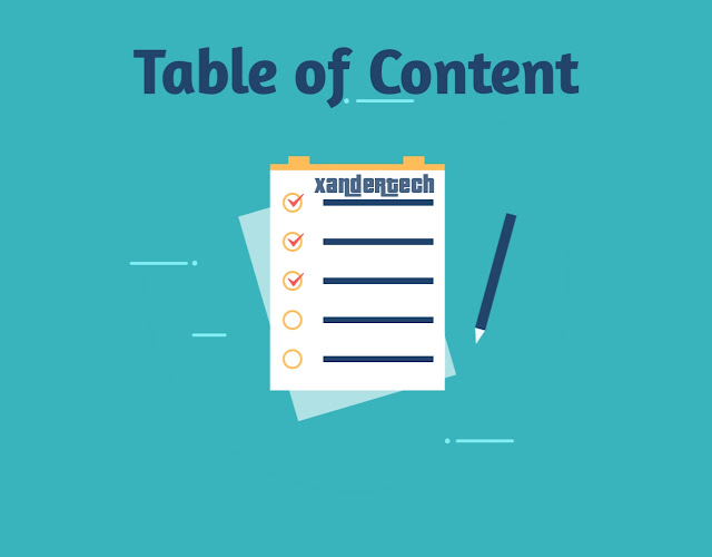 How to add Table of Contents (TOC) SEO Friendly on Blogger