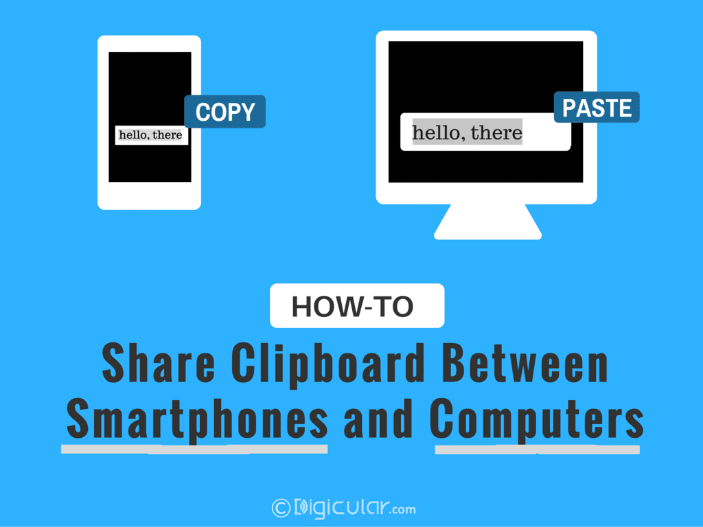 Share Clipboard or Sync Clipboard between Android and Windows/Mac/Linux computer