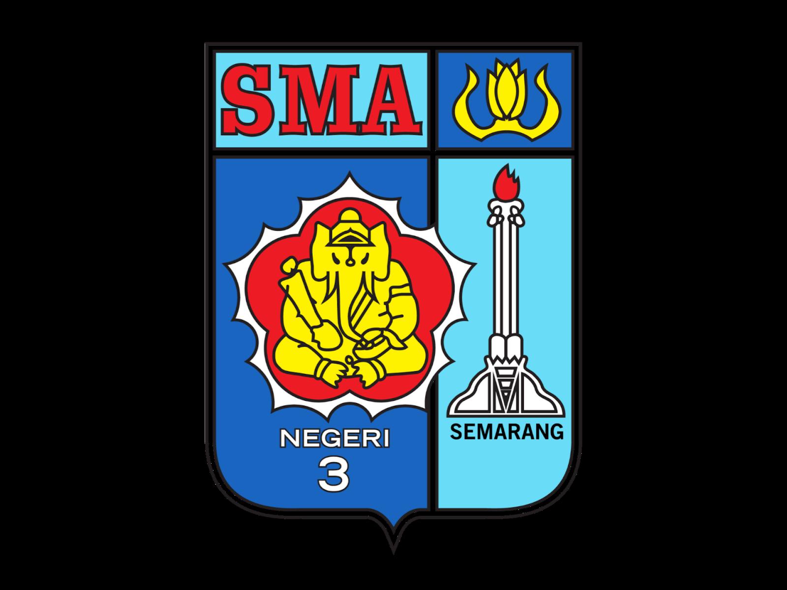 Logo SMA Negeri 3 Semarang Format PNG