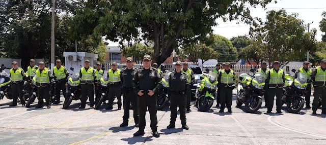 En el Cesar, Cuerpo Élite de la Policía llegó para evitar saqueos de camiones con víveres