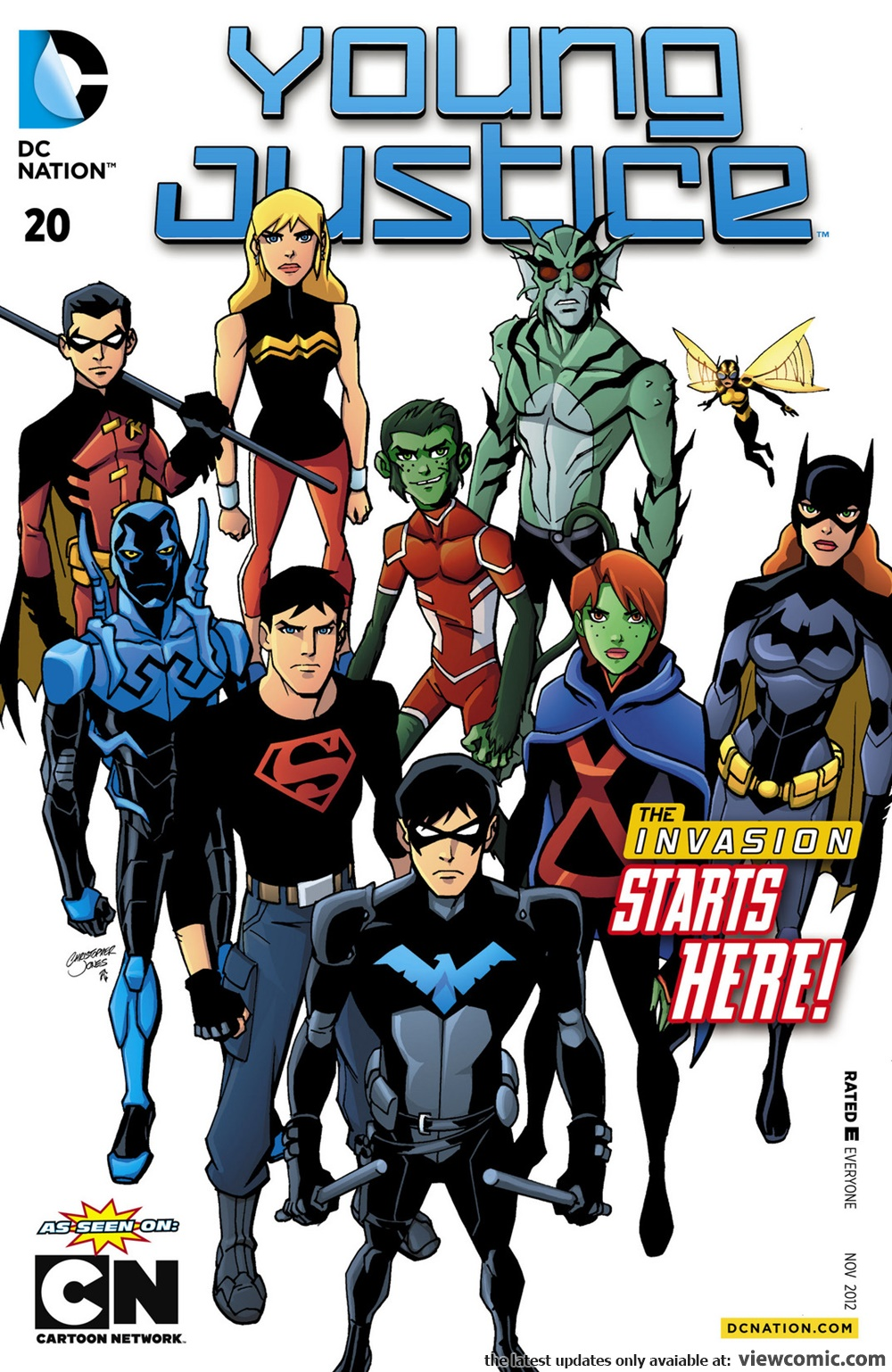 Young Justice V2 020 2012 Read All Comics Online For Free