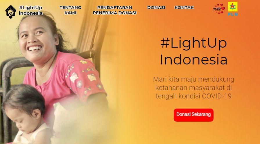 Screenshot situs lightup.id (lightup.id)