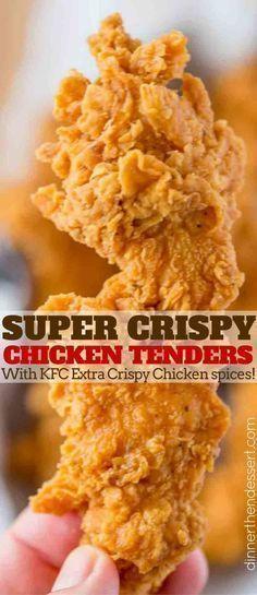 SUPER CRISPY CHICKEN TENDERS (KFC)