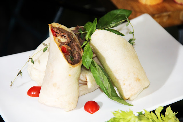 Cajun Beef Tortilla Wraps