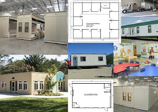 Modular buildings, mobile offices, portable classrooms and modular homes