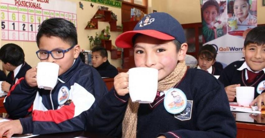 QALI WARMA: Programa social reinicia el servicio alimentario escolar a escala nacional - www.qaliwarma.gob.pe