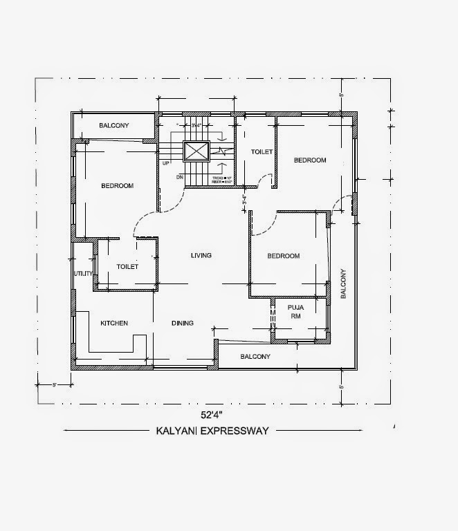 House Plan For 15 Feet By 50 Feet Plot Plot Size 83: Ghar Planner : Leading House Plan And House Design