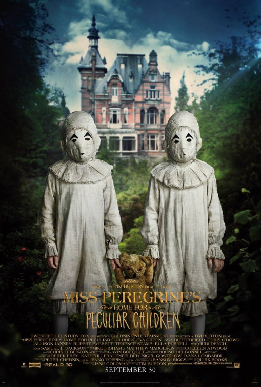 Miss Peregrines Home for Peculiar Children movie poster