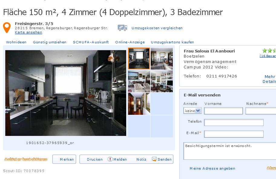 4 Zimmer Wohnung Bremen