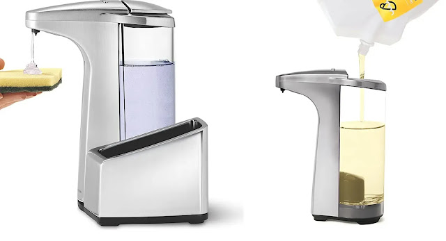 Simplehuman 13 oz. Touch-Free Automatic Soap Pump Source
