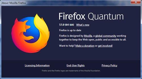 Firefox Quantum Peramban Baru Mozilla, Update ke Firefox terbaru Firefox Quantum