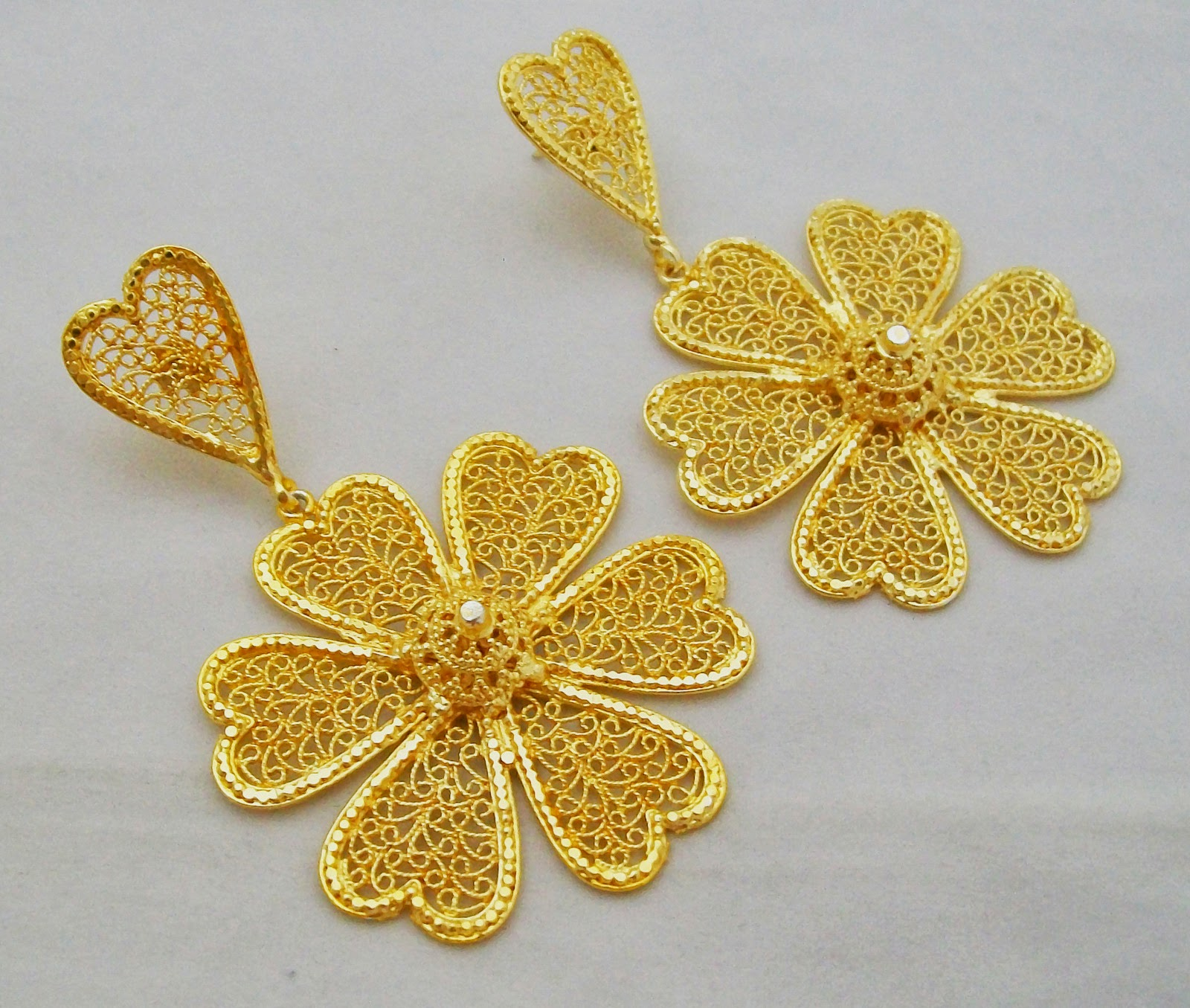 Jewellery India Online Shop: Indian Gold Plated Earrings