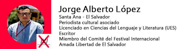Escritor Jorge Alberto López