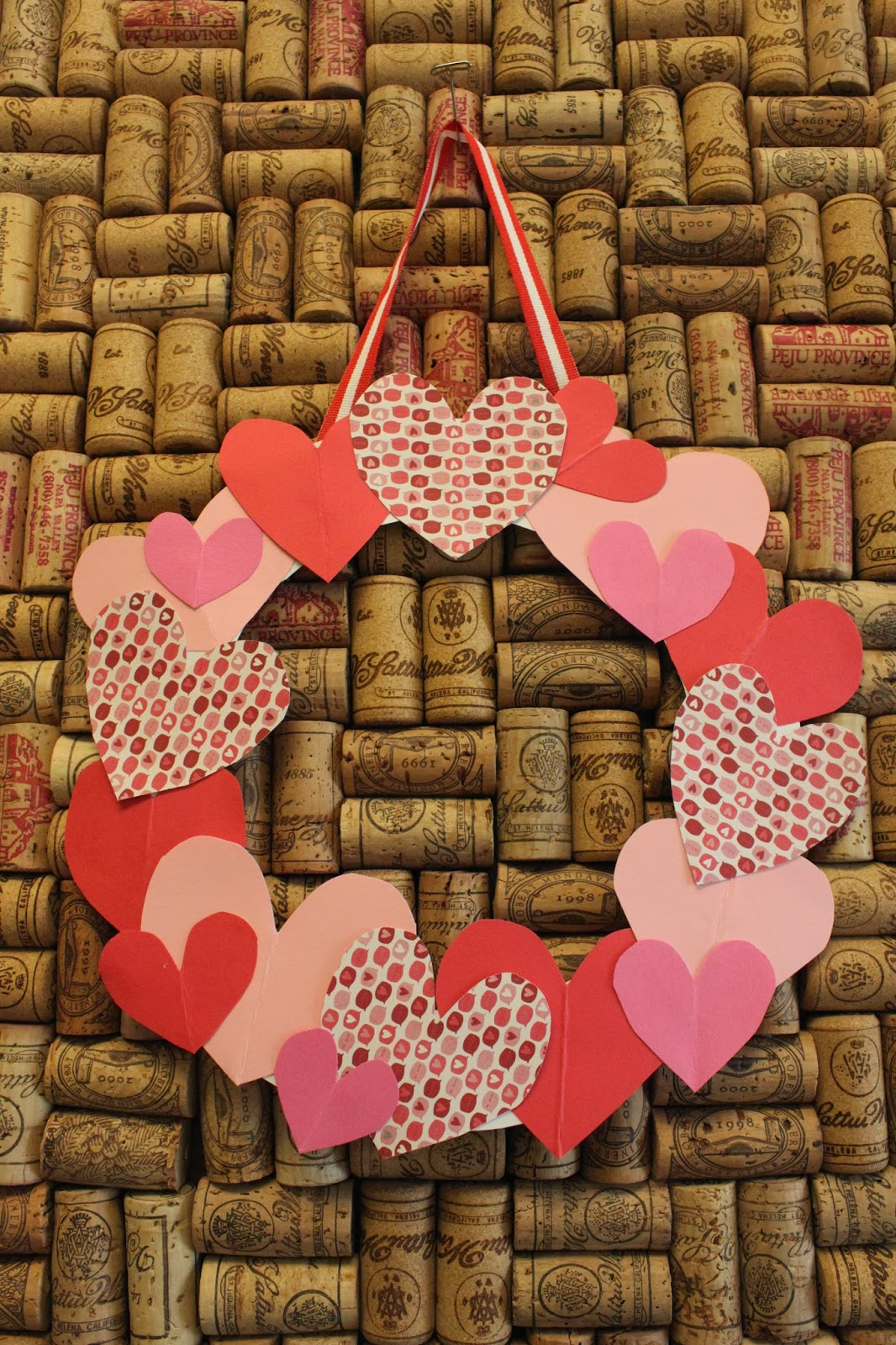 Keeping Up With The Kiddos Dollar Crafts Valentine S Heart Wreath