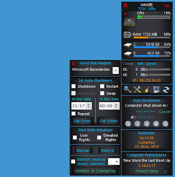 Windows 8 veya 8.1 Gelişmiş Kenar Çubuğu
