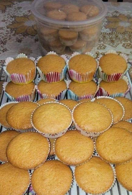 Resepi Kek Cawan Yang Mudah Dan Gebu, Resepi Cupcake, Cara Penyediaan Kek Cawan,