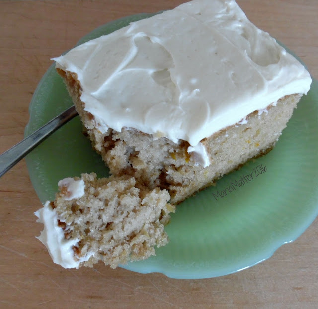 easy zucchini cake with cream cheese frosting