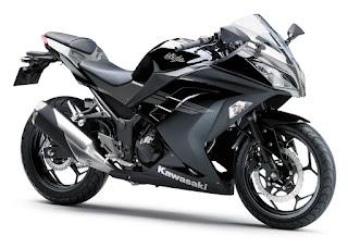 Kawasaki Ninja 250 STD 2017 Hitam