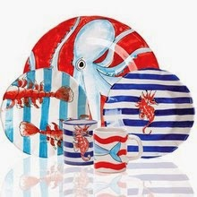 Dr. Dinnerware: Lobster Dinnerware and Platters for Fun