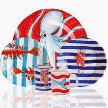 Dr. Dinnerware: Lobster Dinnerware and Platters for Fun ...