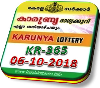 Live kerala lottery result karunya kr 365 from keralalotteries.info 06/10/2018, kerala lottery result karunya-365 06 10 2018, kerala lottery results 06-10-2018, official karunya result by 4 pm KARUNYA lottery KR 365 results 06-10-2018, KARUNYA lottery KR 365, live KARUNYA   lottery KR-365, KARUNYA lottery, kerala lottery today result KARUNYA, KARUNYA lottery (KR-365) 06/10/2018, KR 365, KR 365, KARUNYA lottery KR365, KARUNYA lottery 06.8.2018, karunya today prize,
