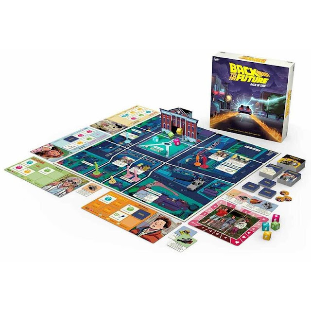 Funkoverse Back to the Future Back in Time gme - 4 Must Have Funko Games for Your Pop Culture Loving Family with Tweens and Teens - dellahsjubilation.com