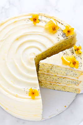 Lemon Poppyseed Cake Recipe